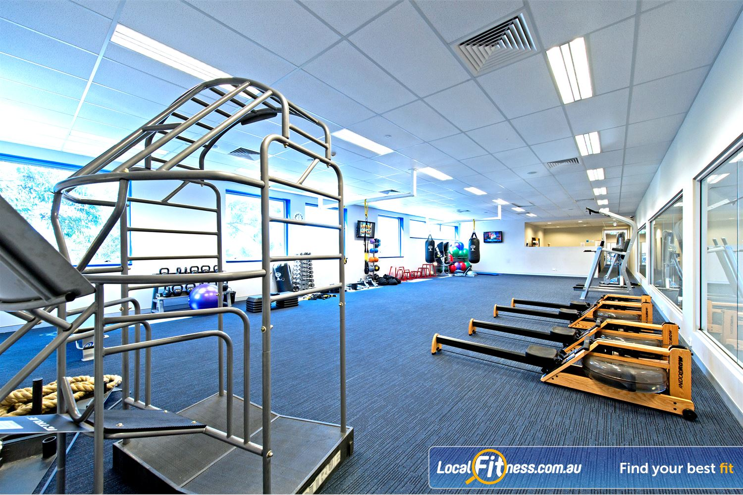 Genesis Fitness Clubs Parramatta State of the art equipment from Nautilus.