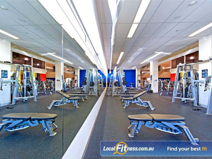 Genesis Fitness Clubs Gym Meadowbank  | Our Parramatta gym includes a full range of