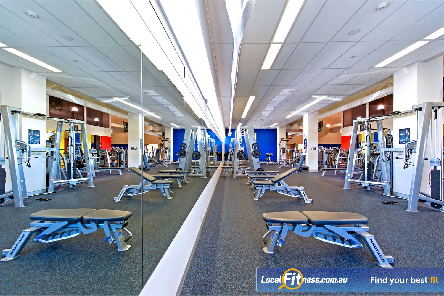 Genesis Fitness Clubs Near North Parramatta Our Parramatta gym includes a full range of dumbbell, barbell and benches.