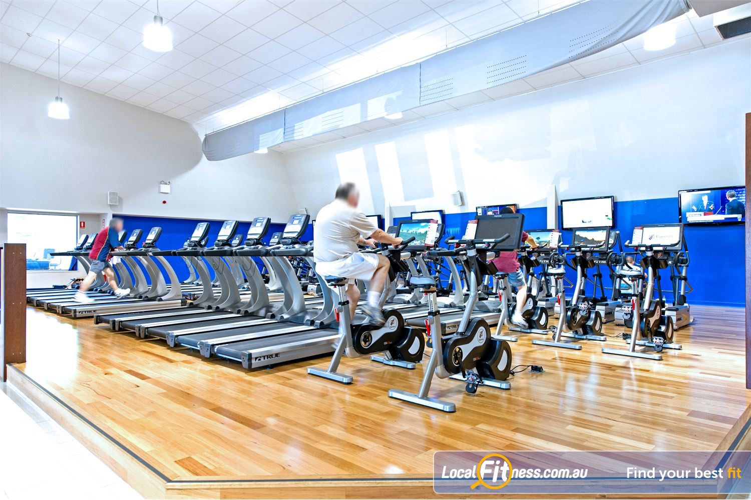 Genesis Fitness Clubs Near North Parramatta Tune into your favourite shows in our cardio theatre.