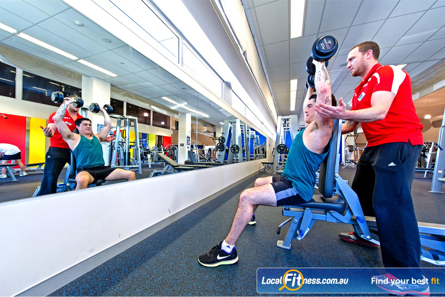 Genesis Fitness Clubs Parramatta Get the right training advice with our qualified personal trainers.