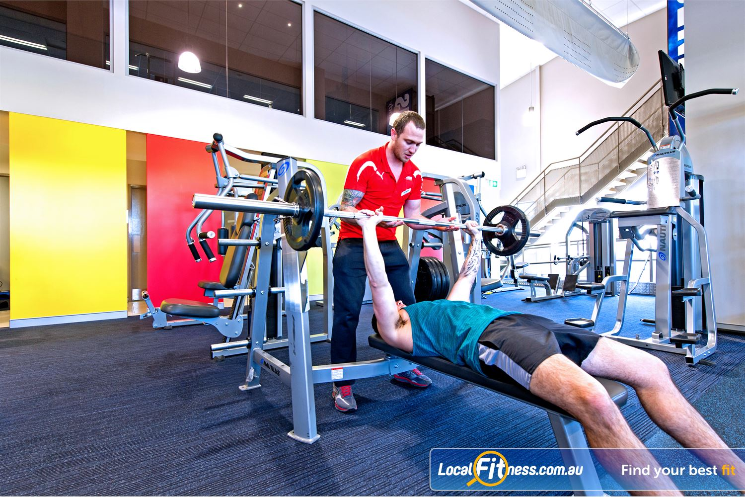 Genesis Fitness Clubs Parramatta Parramatta personal training is like having your own personal coach.