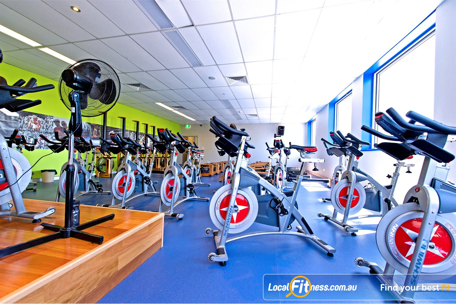 Genesis Fitness Clubs Near Northmead The state of the art Parramatta cycle studio.
