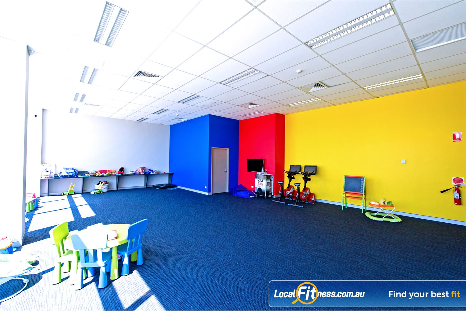Genesis Fitness Clubs Near Merrylands Your children will love the activities at the Genesis Parramatta child care area.