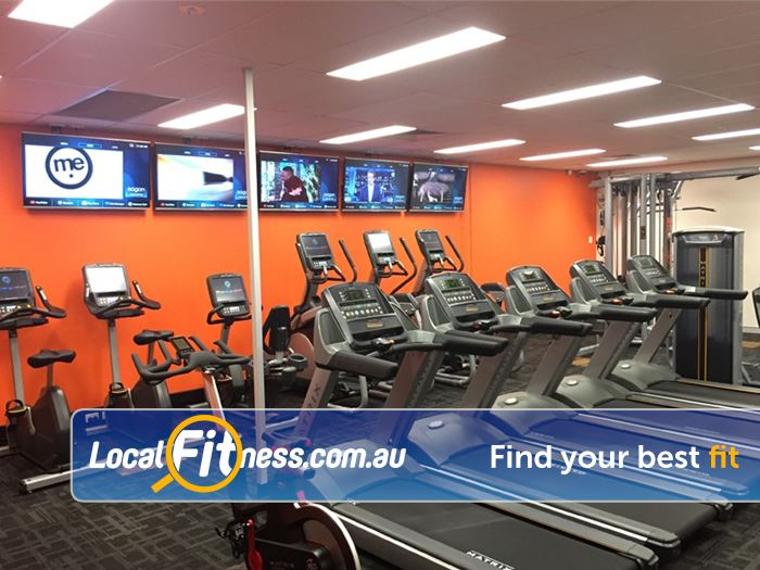Stepz Fitness 24/7 Thornleigh Our Thornleigh gym includes a state of the art cardio area.