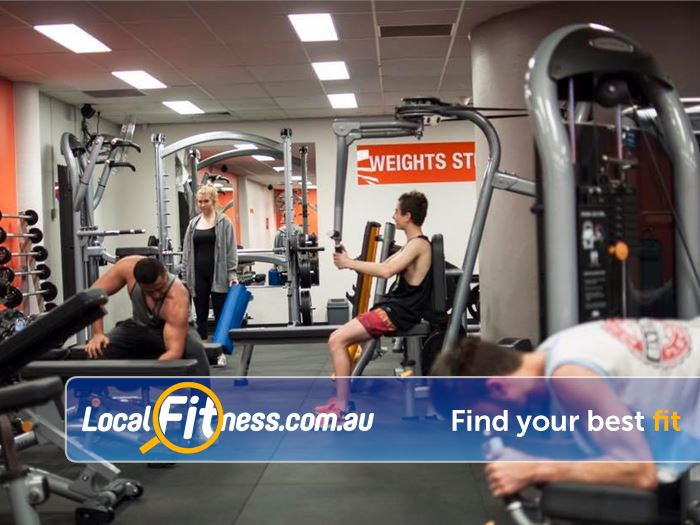 Stepz Fitness 24/7 Near North Epping Our Thornleigh gym includes state of the art equipment from MATRIX.
