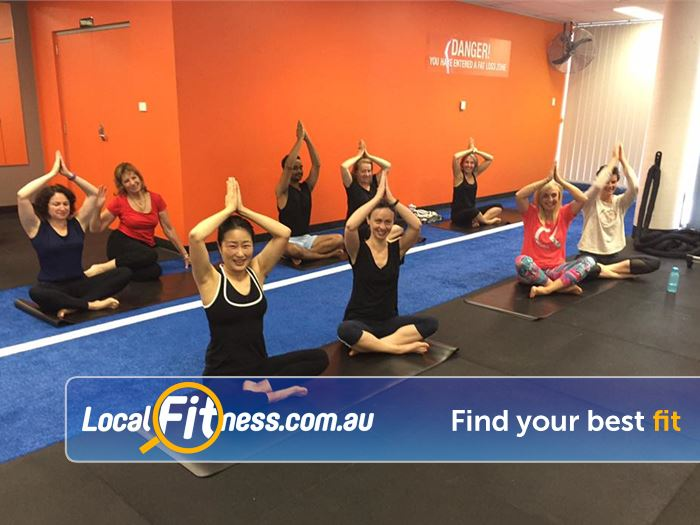Stepz Fitness 24/7 Thornleigh Join in all the fun of a Thornleigh Yoga class.