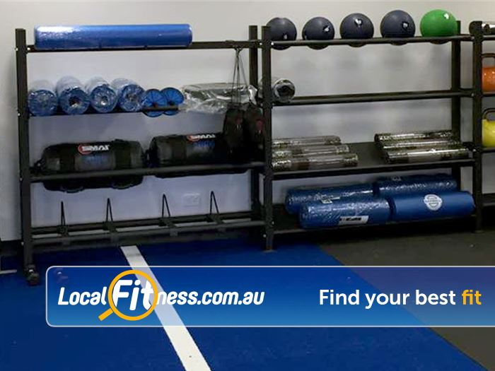 Stepz Fitness 24/7 Near Cherrybrook Full equipped Thornleigh HIIT gym area.