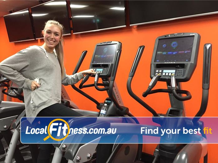 Stepz Fitness 24/7 Near North Epping Our friendly members love the Stepz Fitness non-intimidating environment.