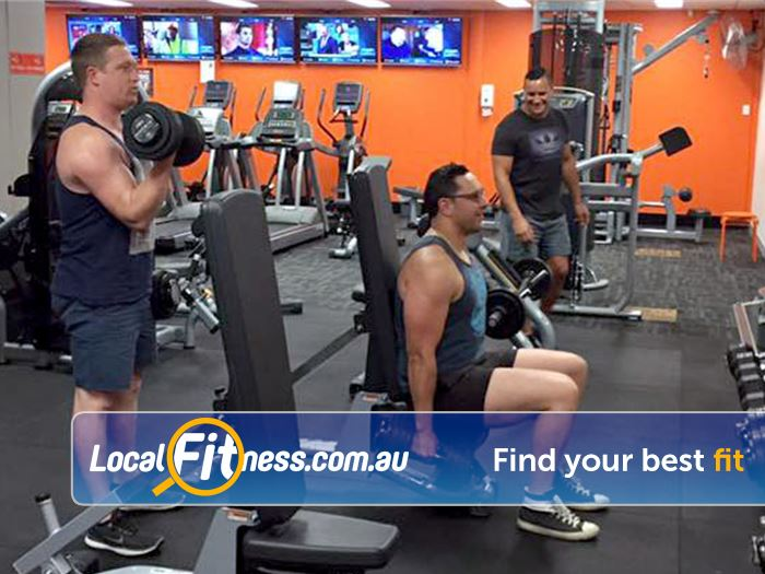 Stepz Fitness 24/7 Thornleigh Benches, barbells, dumbells and more.