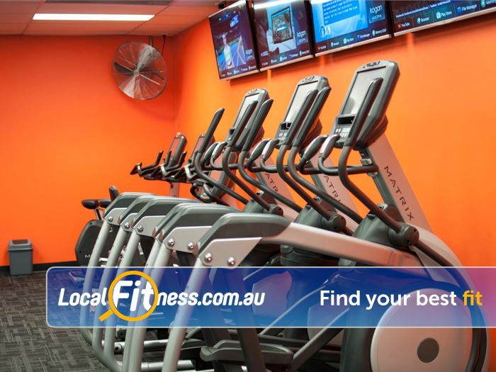 Stepz Fitness 24/7 Thornleigh Treadmills, cycle bikes, cross-trainers, rowers and more.