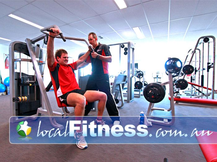 New Level Personal Training Near Newtown Our private Newtown personal training studio has a full range of strength training equipment.