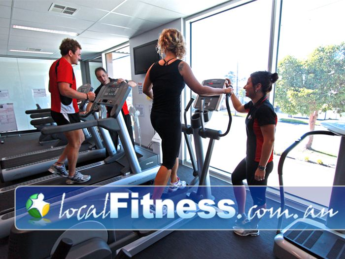 New Level Personal Training Near South Geelong Enjoy state of the art cardio training overlooking the Newtown streets.