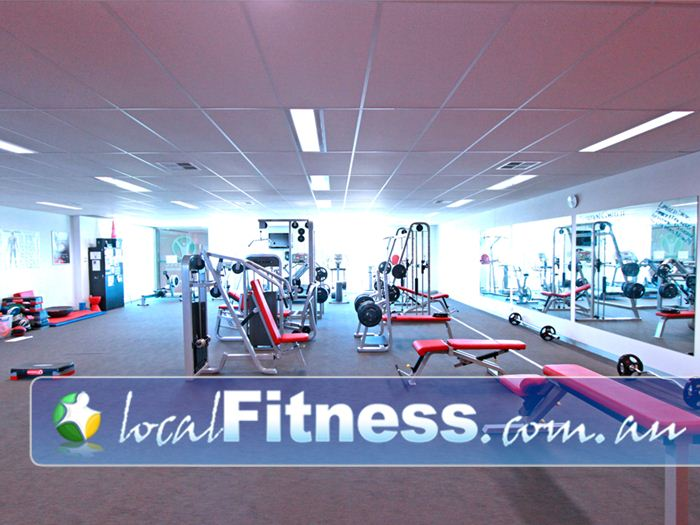 New Level Personal Training Geelong Fully equipped Newtown personal training studio with benches, dumbbells, pin-loaded machines and more.