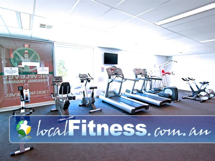 New Level Personal Training Geelong Vary your cardio workout with treadmills, cycle bikes, cross trainers and more.