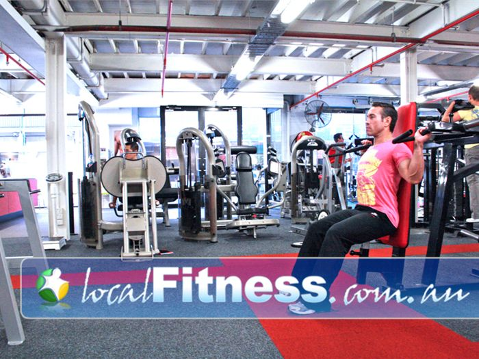 Muscle & Body Shape Gym Gym Albert Park  | All your favorite machines from MBS richmond are