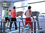 Muscle & Body Shape Gym Balaclava Gym CardioOur cardio area overlooking