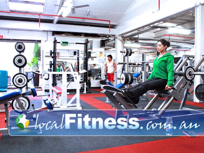 Muscle & Body Shape Gym Gym Albert Park  | We have a wide range of equipment to