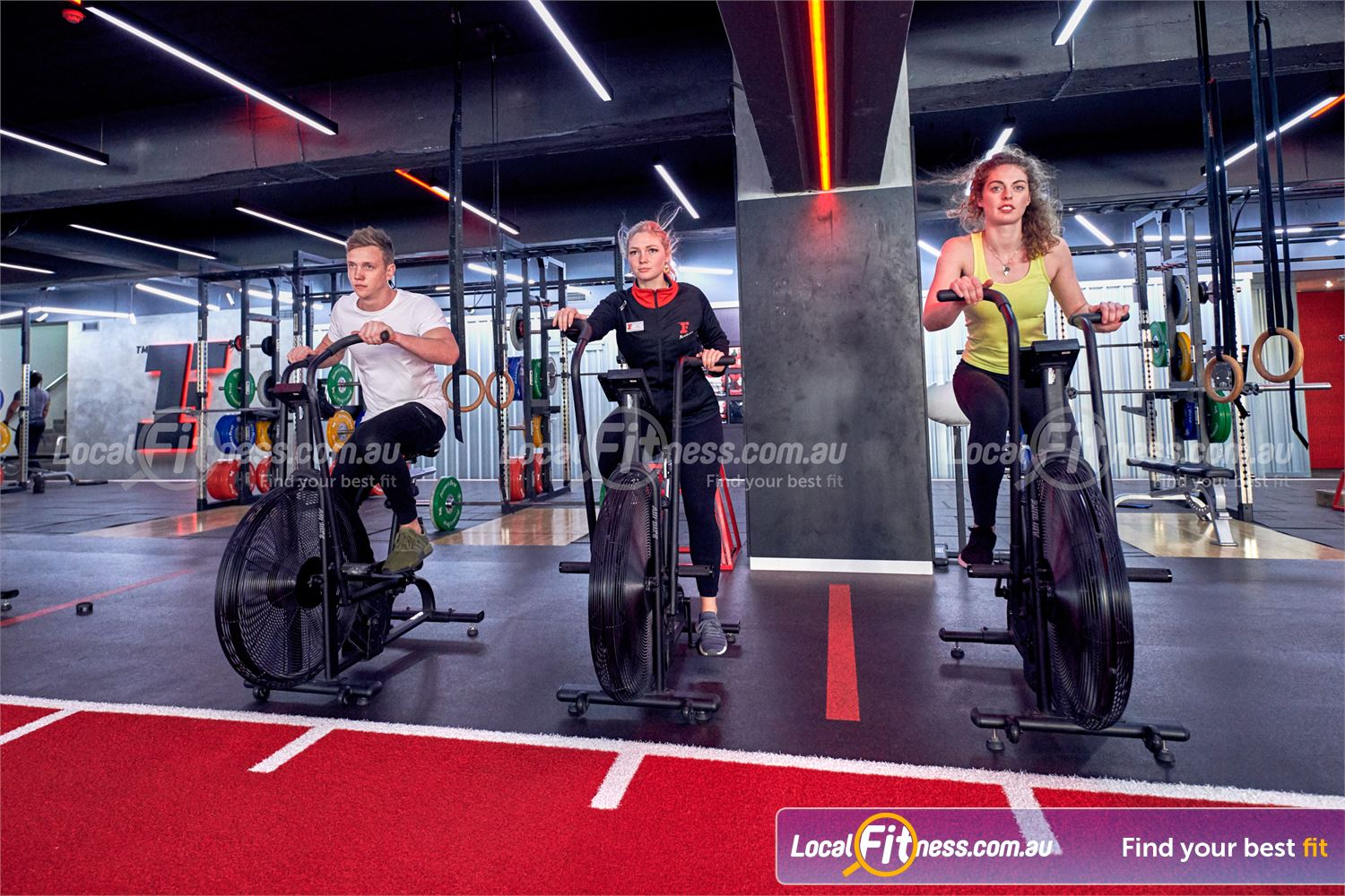 Fitness First Macquarie Near North Ryde Experience our dedicated freestyle functional training area.