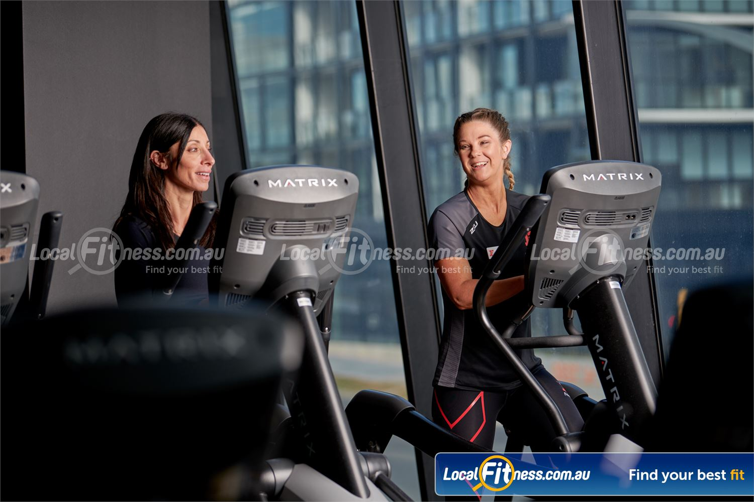 Fitness First Macquarie Ryde State of the art cardio includes treadmills, cross trainers, rowers and more.