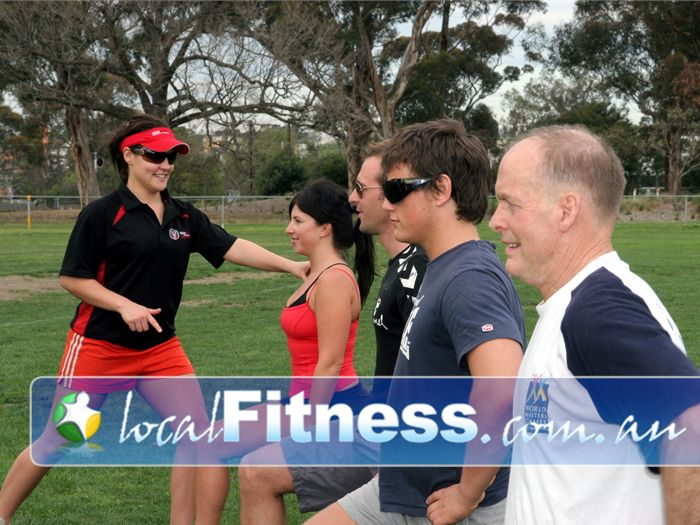New Level Personal Training Yarraville Our group training sessions are held in your local parks.