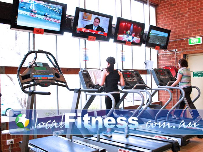 Collingwood Leisure Centre - Yarra Leisure Near Fitzroy North Tune into your favorite shows during your cardio workout.