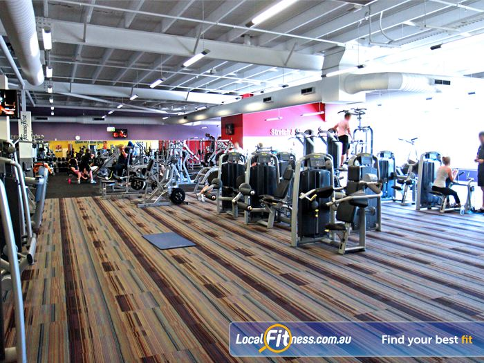 Goodlife Health Clubs Gym Toowong  | Welcome to the spacious Goodlife Jindalee gym.