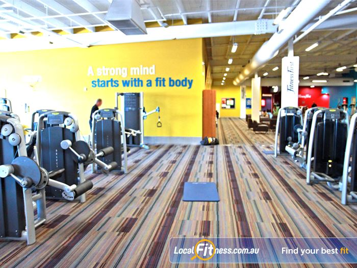 Goodlife Health Clubs Gym Bardon  | Our Jindalee gym features state of the art