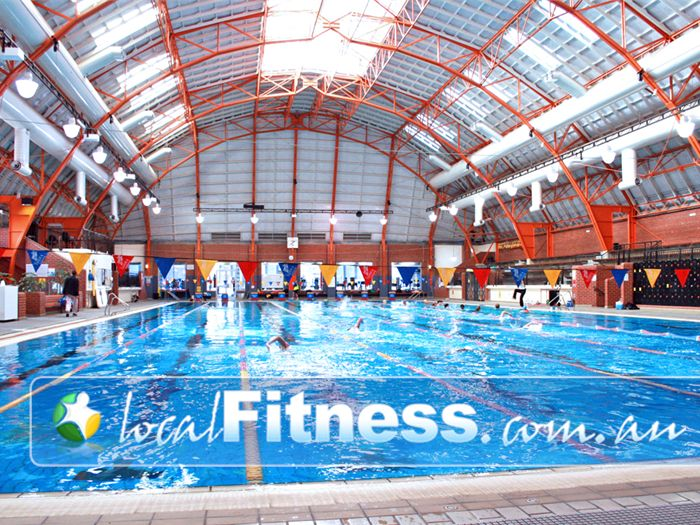 Richmond Recreation Centre - Yarra Leisure Swimming Pool Melbourne  | The 50m indoor heated pool.