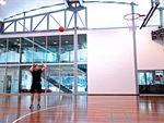 Carlton Baths Carlton North Gym Sports 1 single multi-court stadium for