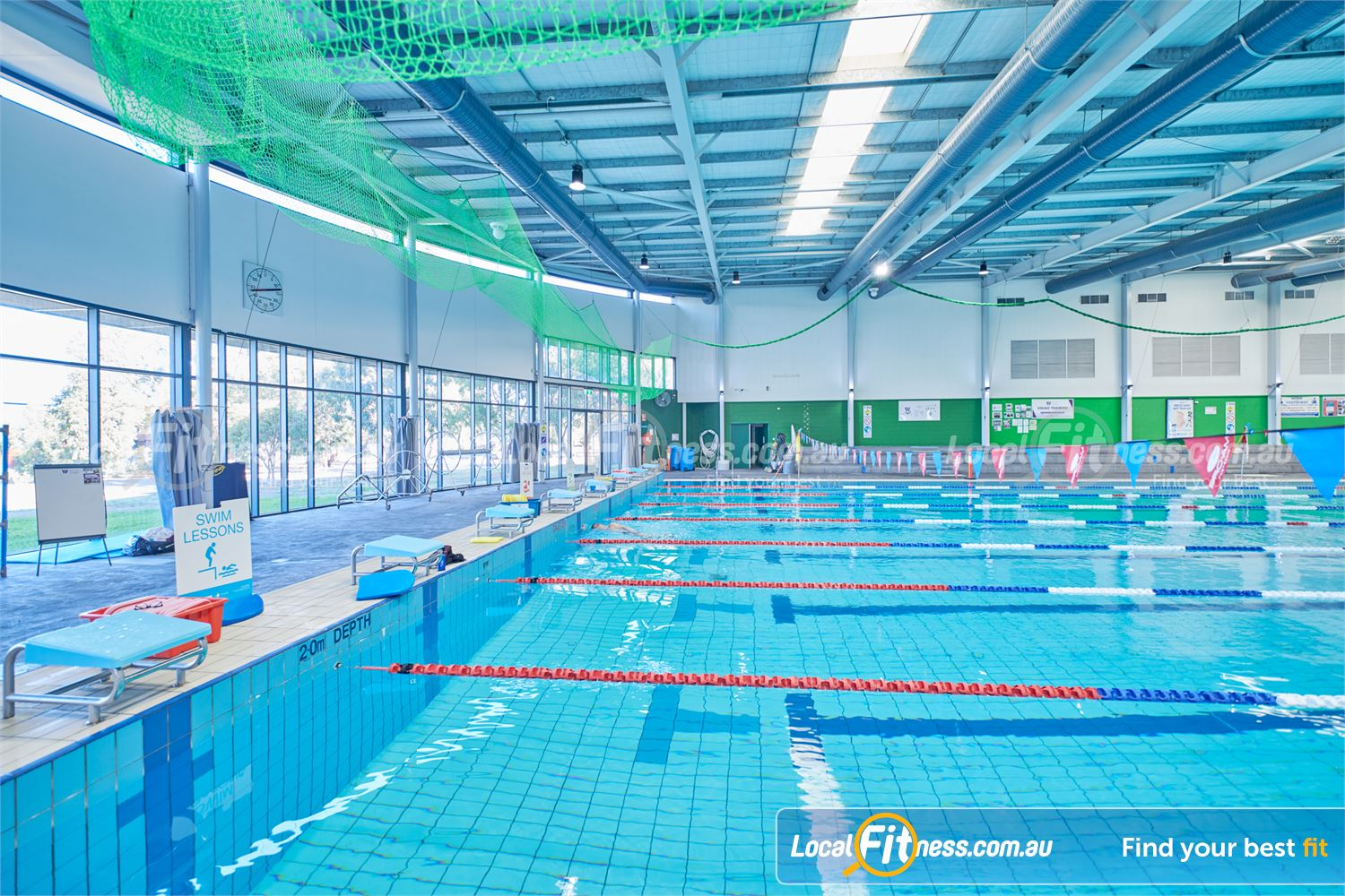 Maribyrnong Aquatic Centre Maribyrnong Lap lane swimming is open for all at our Maribyrnong swimming pool.