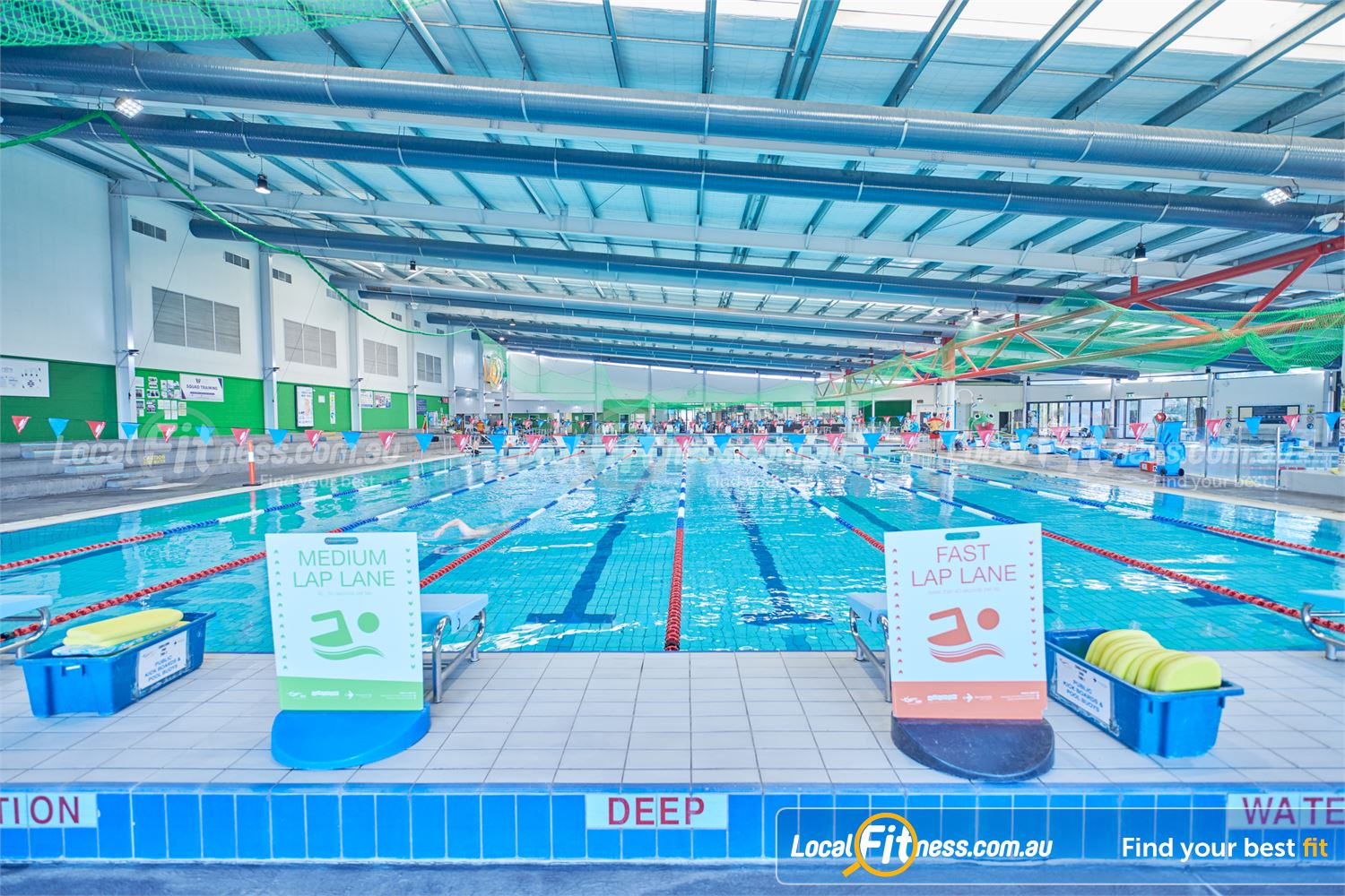Maribyrnong Aquatic Centre Near Essendon West Are you swimming in the fast lane at MAC?