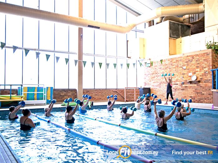 Genesis Fitness Clubs Swimming Pool Waverley Park  | Get into our range of aqua classes.