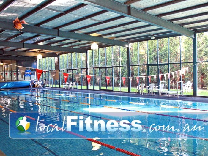Genesis Fitness Clubs Swimming Pool Waverley Park  | Enjoy our heated pool.