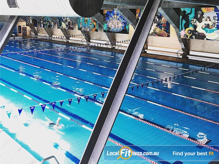 Cook and Phillip Park Aquatic and Fitness Centre Swimming Pool Sydney  | Enjoy lap lane swimming in the heart of