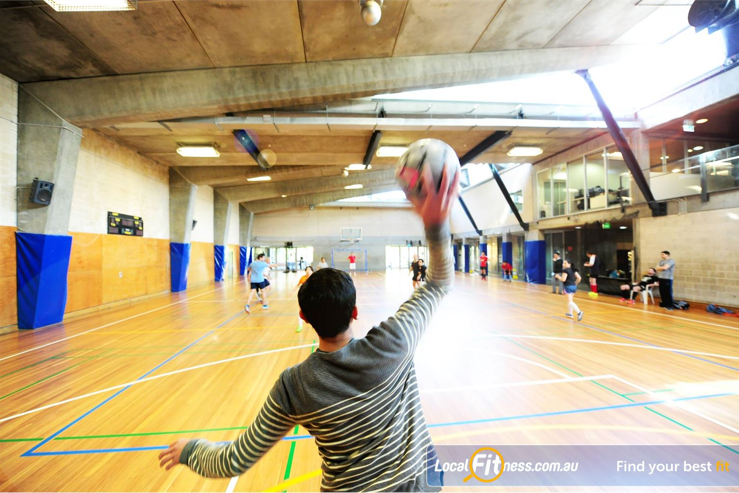 Cook and Phillip Park Aquatic and Fitness Centre Sydney Our multi-sport Sydney stadium caters for futsal, netball, volleyball and more.