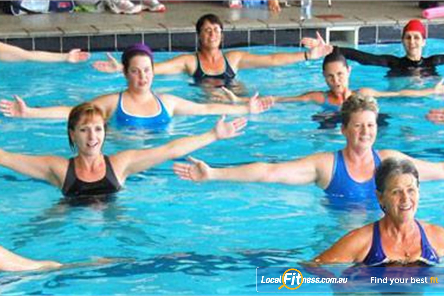 Cook and Phillip Park Aquatic and Fitness Centre Near World Square Full range of aqua classes in our group fitness timetable.