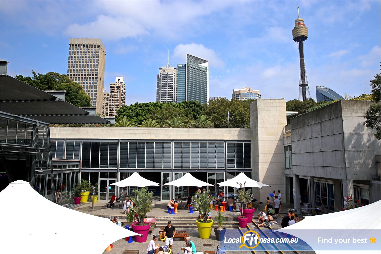 Cook and Phillip Park Aquatic and Fitness Centre Near World Square Our Sydney gym is located in the heart of the Sydney CBD.