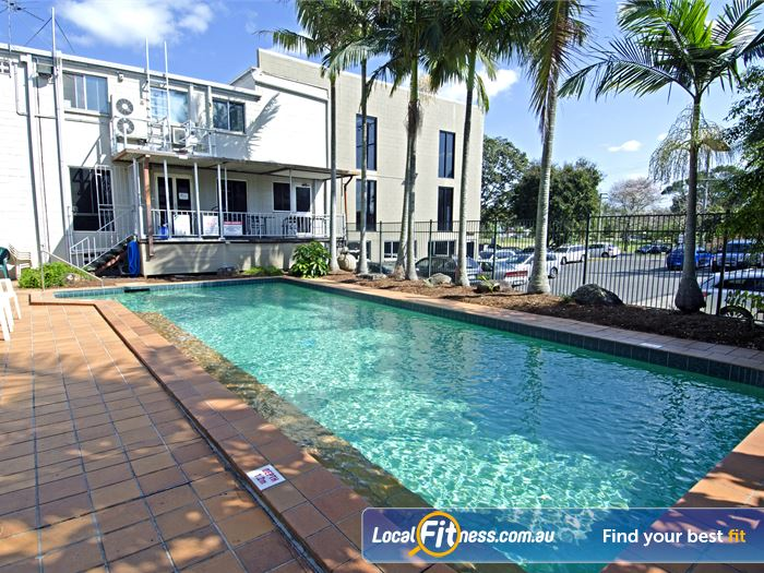 Goodlife Health Clubs Swimming Pool Kelvin Grove  | The outdoor Graceville swimming pool.