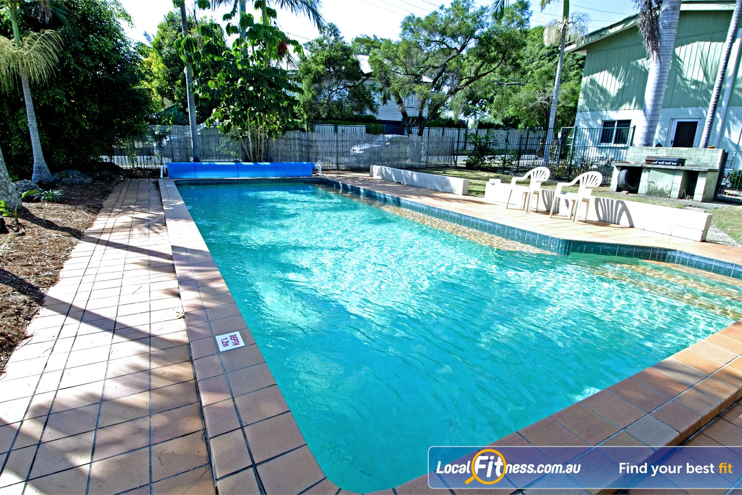 Goodlife Health Clubs Near Sherwood The Graceville swimming pool is great for lap swimming and for the whole family.