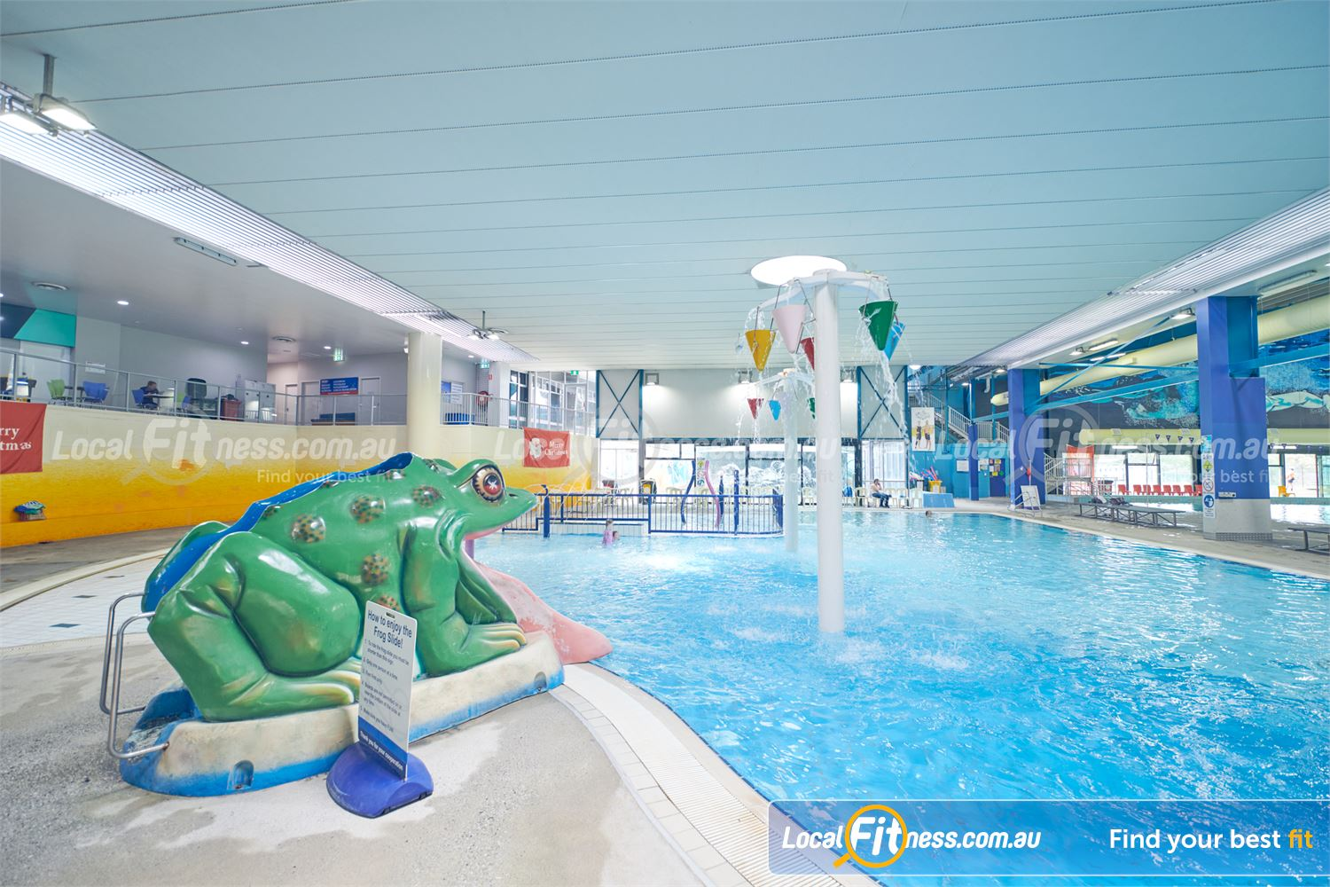 Knox Leisureworks Near Ferntree Gully Our aqua play swimming area for toddlers and your little ones.