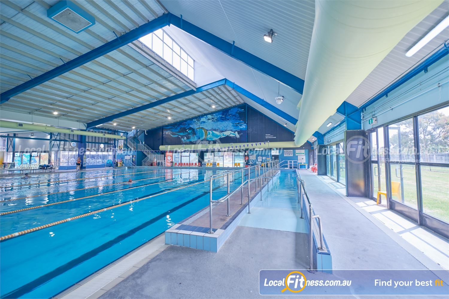 Knox Leisureworks Near Ferny Creek Easy ramp access to our indoor Boronia swimming pool.