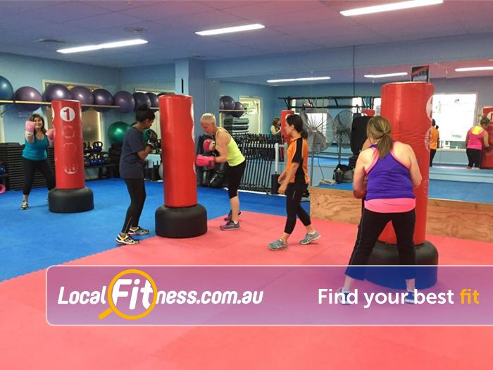 Rising Up Fitness Narre Warren Get involved with our Narre Warren boxing style classes.