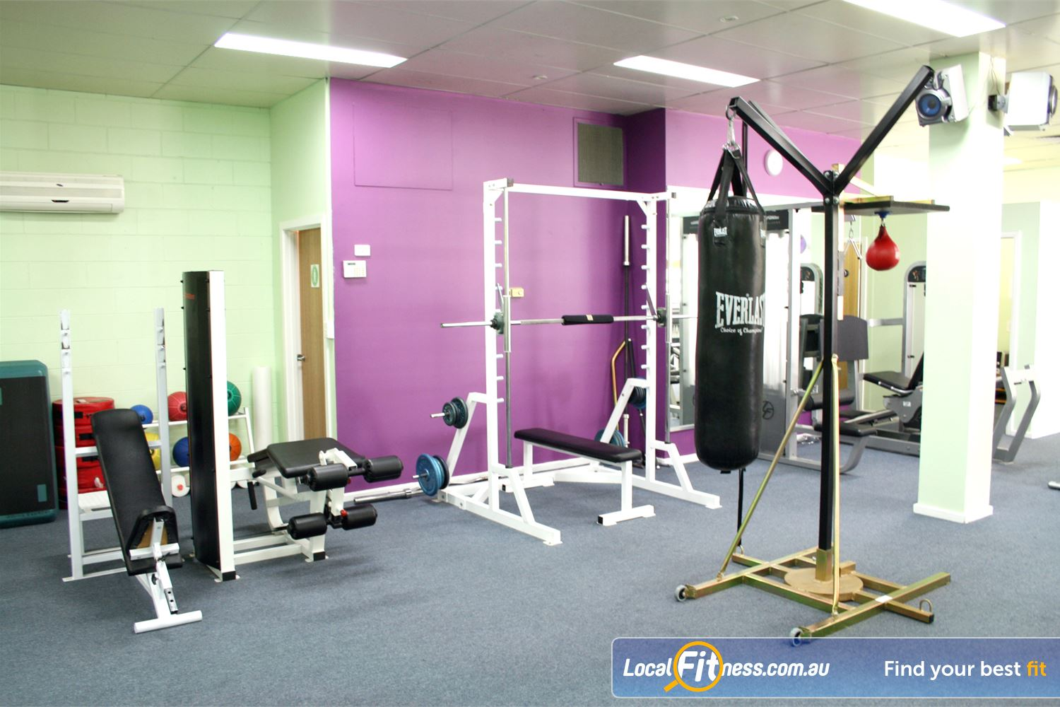 Berry Fitness Centre Edithvale Our dedicated Edithvale boxing area.