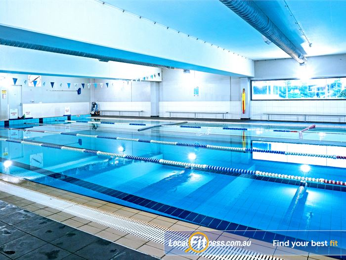 Fitness First Swimming Pool Mudgeeraba  | The indoor Robina swimming pool.