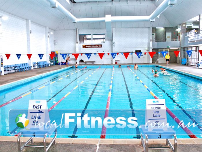 Sunshine Leisure Centre Swimming Pool Melbourne    Heated all year round for your convenience.