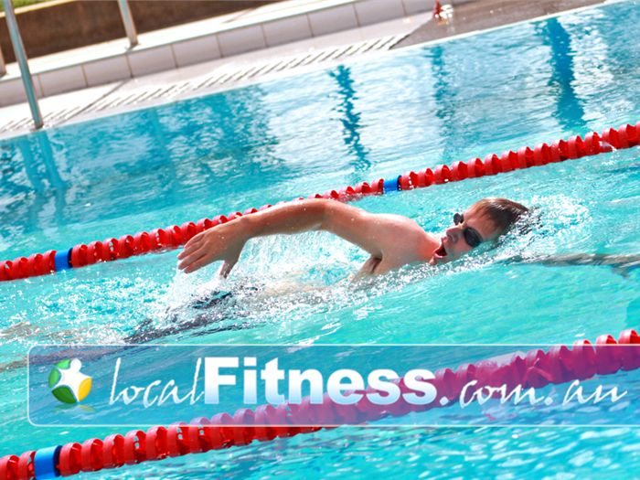 St Albans Leisure Centre Near Keilor Lodge Enjoy lap swimming outdoors.