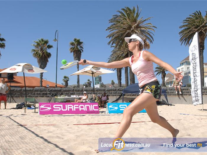 Goodlife Health Clubs Port Melbourne Gym Beach Passion and fun outdoors with