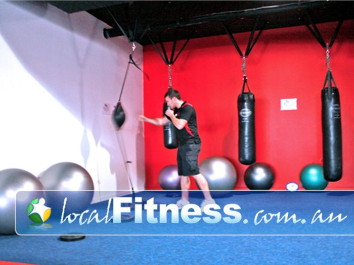 Re-Creation Health Clubs Brighton East Punch and kick your way to fitness.
