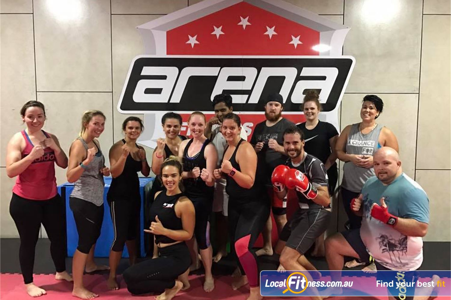 Goodlife Health Clubs Near Belmont Join the Carindale Arena Fitness MMA family and burn calories together.